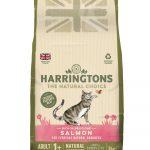 Harringtons Pet Food salmon adult bag