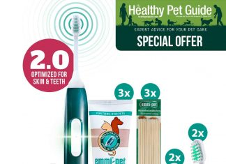 pet ultrasonic toothbrush