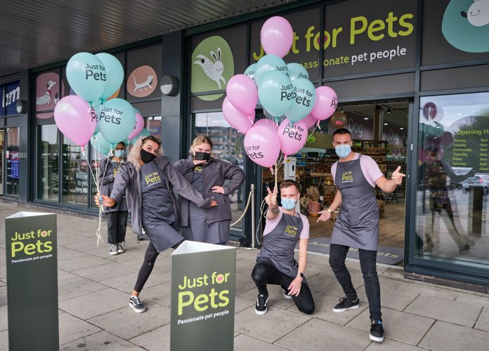Just For Pets stafford store