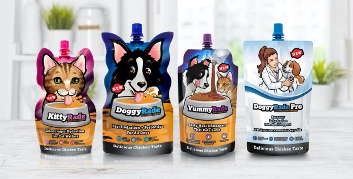 DoggyRade drink packs