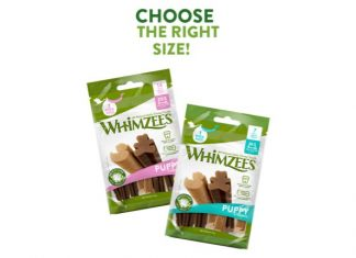 WHIMZEES choose the right size
