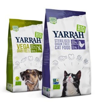 Yarrah dog and cat food